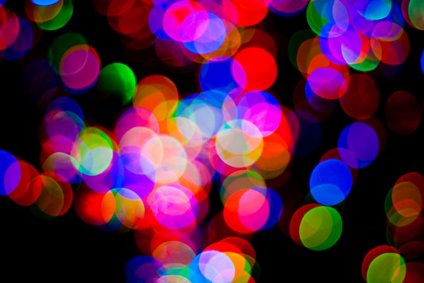 'Tis the Season for Colourful out of Focus Subjects (Billy Wilson/flickr.com)