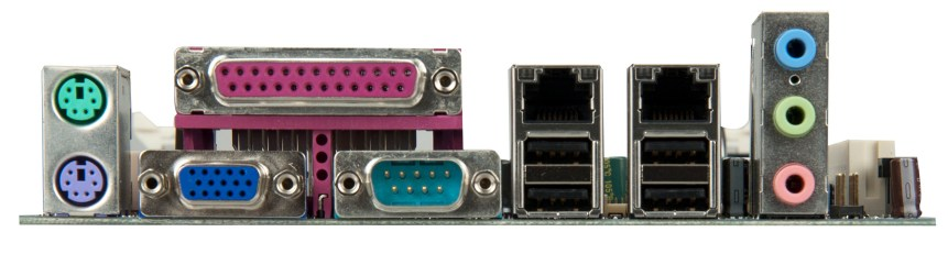 VIA VB7009 Embedded Board - Rear I/O (VIA Gallery/flickr.com)