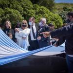 Inauguraron un memorial en homenaje al ARA San Juan y sus 44 tripulantes en Mar del Plata