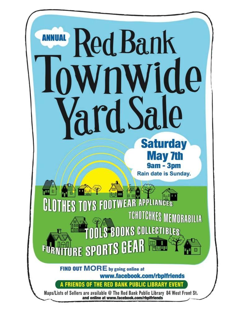 Red Bank Yard Sale 2016