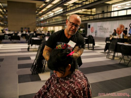 Hair for Hurricanes 2017 Salon Concrete Bell Works 17 of 25