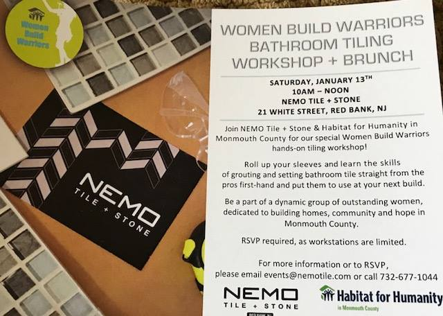 Bathroom Tiling DIY Workshop with Habitat for Humanity in