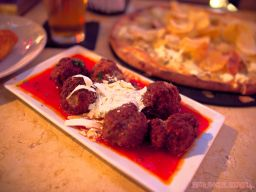 Pazzo MMX pizza meatballs beer potatoe croquettes cannoli 16 of 25