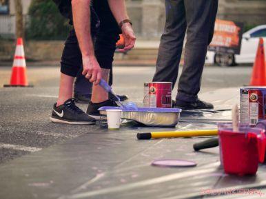 3rd annual community mural painting Indie Street Film Festival 23 of 36