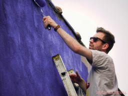 3rd annual community mural painting Indie Street Film Festival 26 of 36