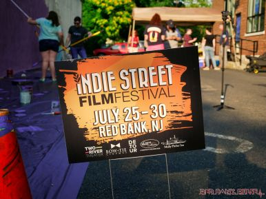 3rd annual community mural painting Indie Street Film Festival 35 of 36