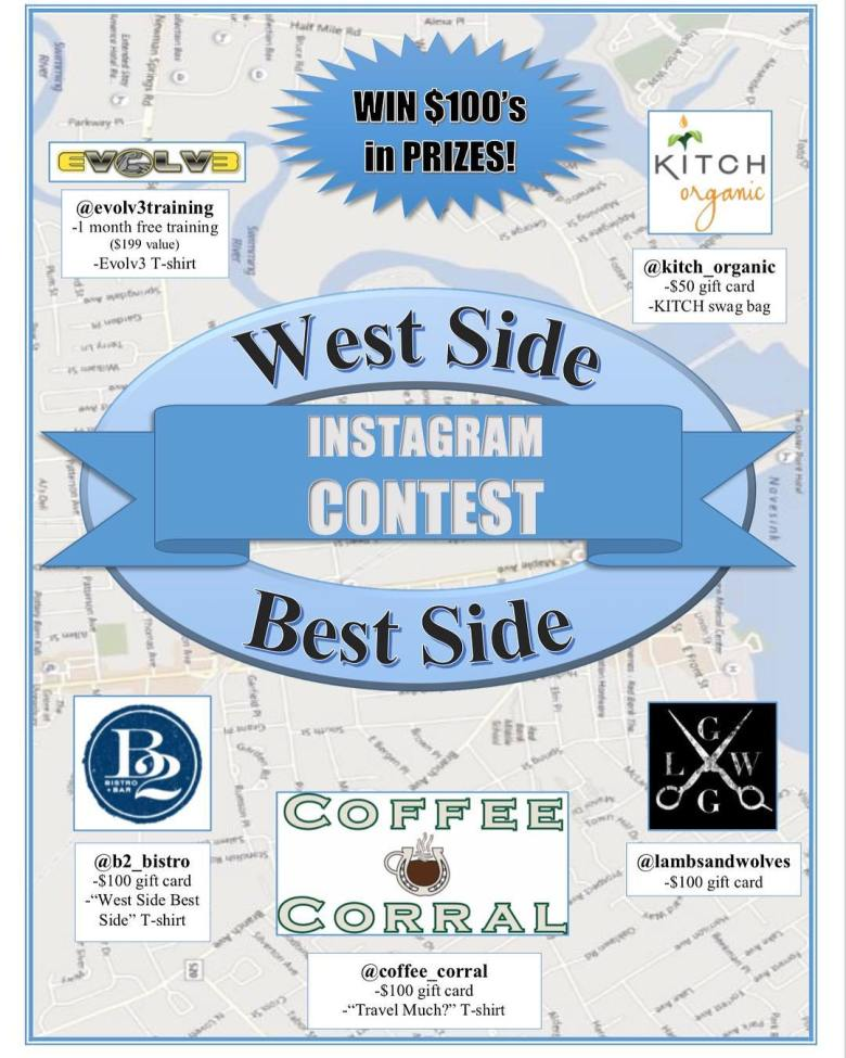 West Side Best Side Instagram Contest