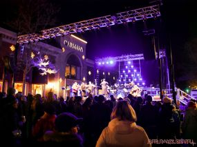 Holiday Express Concert Town Lighting 145 of 150