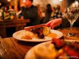 Asbury Festhalle & Biergarten pop-up market & half price menu night 82 of 151 sausage bratwurst