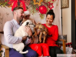 Home Free Animal Rescue with Santa Paws at Bradley Brew Project 44 of 53