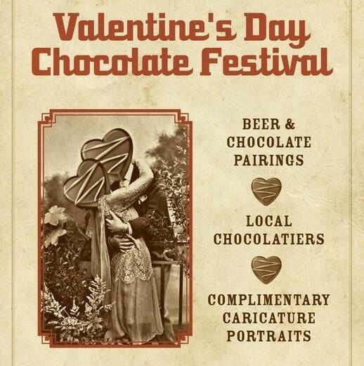 valentine's day chocolate & bier festival asbury park festhalle biergarten