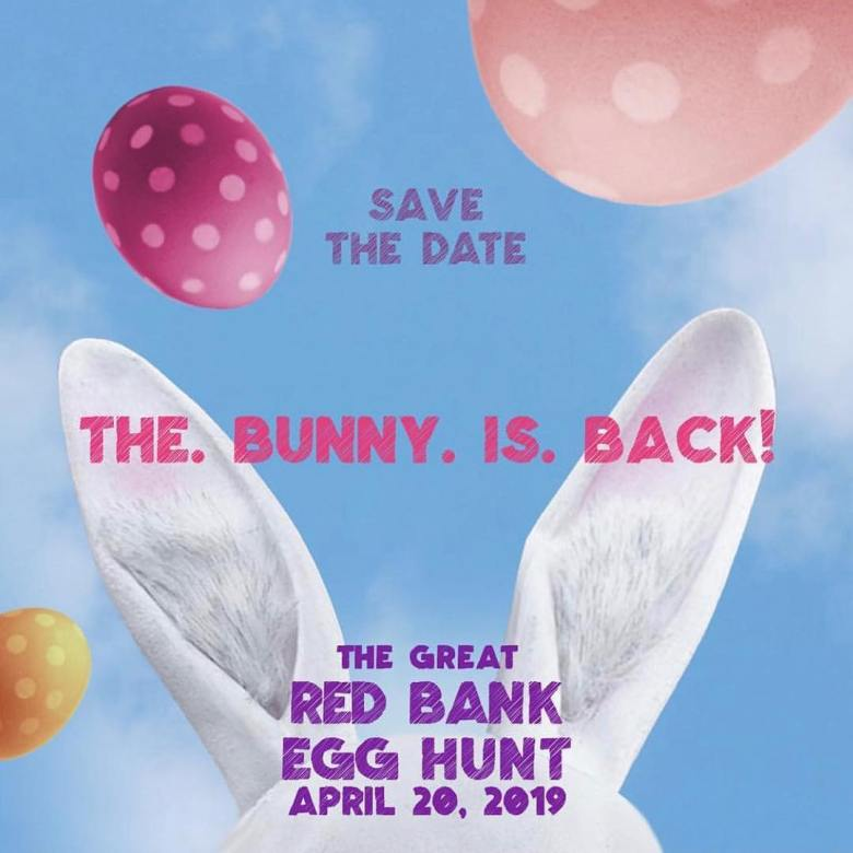 The Great Red Bank Egg Hunt 2019