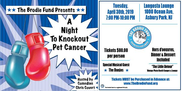 A Night To Knoclout Pet Cancer The Brodie Fund
