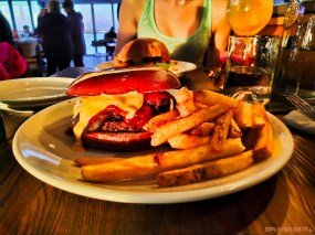 Proving Ground Waterfront Dining 8 of 22 burger