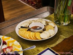 Goldtinker Art show 25 of 32 crackers platter