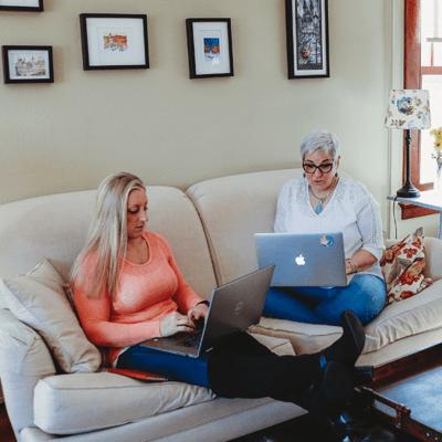 newsletter Cindy and Jenn