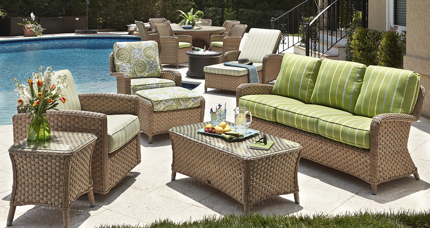 Outdoor Wicker Seating Sofas Amp Sectionals RedBarn