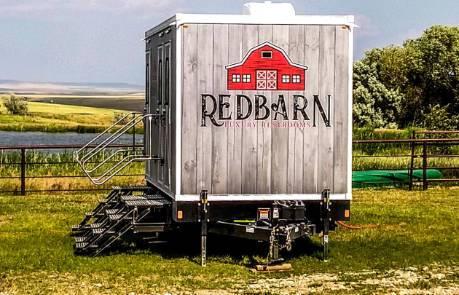 Grey Redbarn Trailer