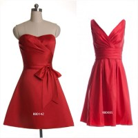 red bridesmaids dresses   Being A Perfect Bridesmaid