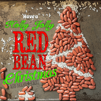 Have a Holly Jolly RED BEAN Christmas