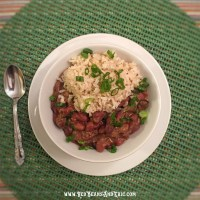 Peppery Red Beans and Rice That's Healthy-ish