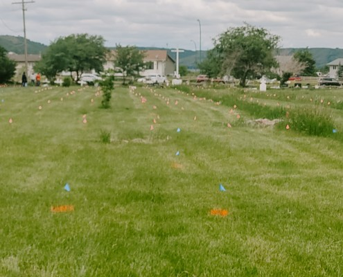Cowessess First Nation - Unmarked grave findings