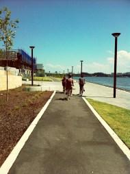 rhodes boardwalk & cycleway