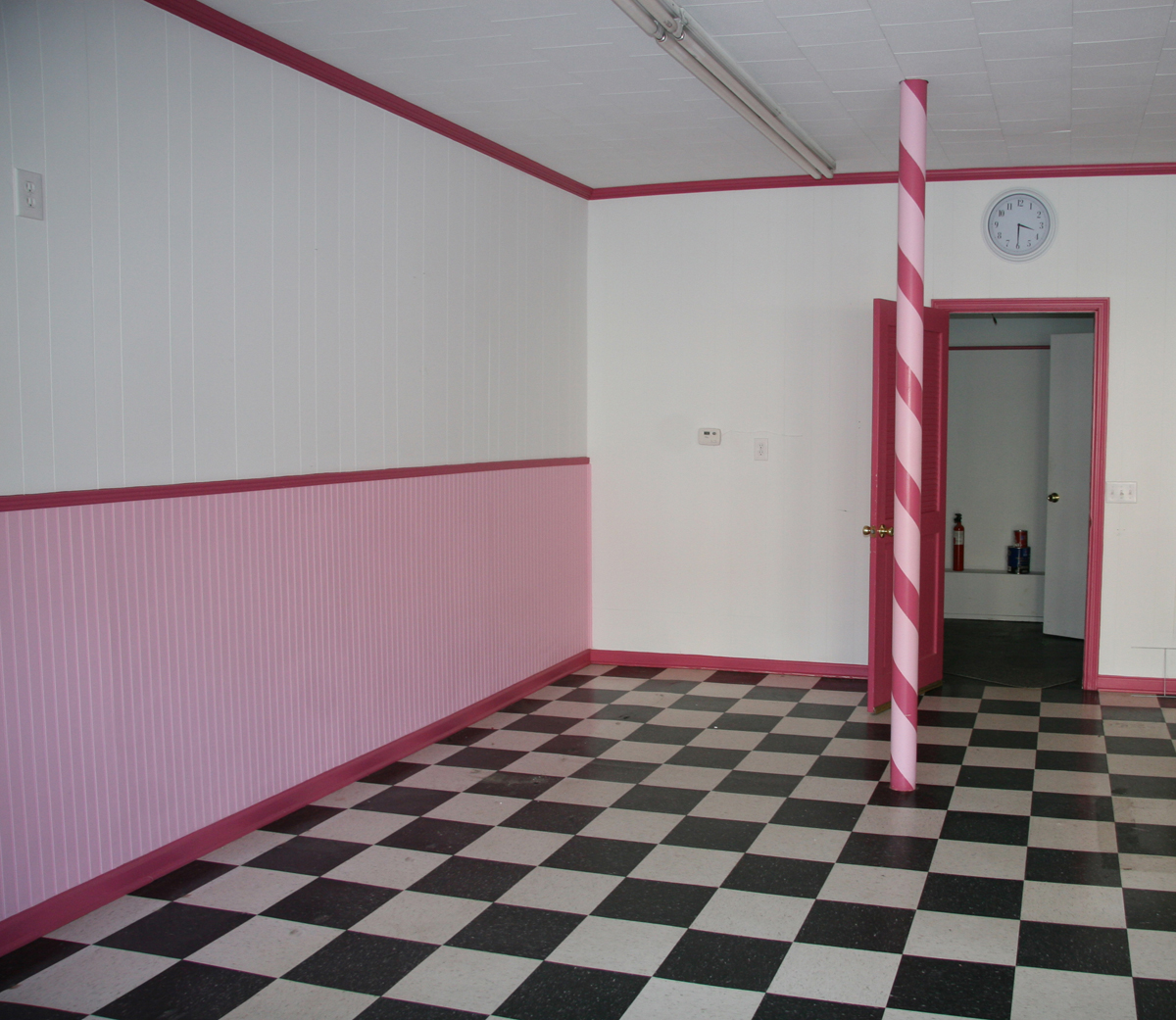 Barber Shop Flooring