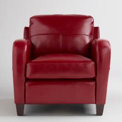 Red Leather Sofas And Chairs How To Recover A Sofa Without Sewing Chair Obsession Redbird