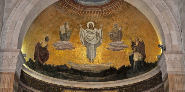 Mt. Tabor church of Transfiguration of Christ.