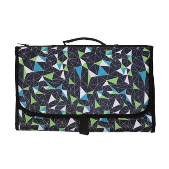 Foldable Changing Pad and Diaper Bag Redbox CPD028