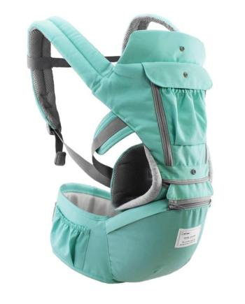 15 in 1 Ergonomic Baby/Infant Carrier Redbox Green