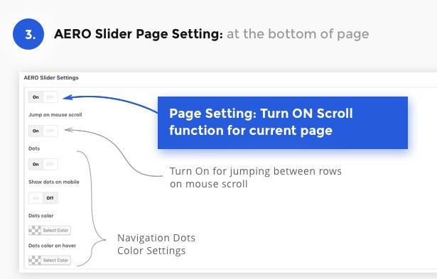 AERO – Fullscreen Scroller for Visual Composer 4