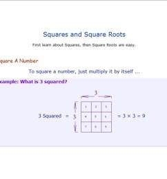 Square \u0026 Cube Roots - 8th Grade Math [ 800 x 1035 Pixel ]
