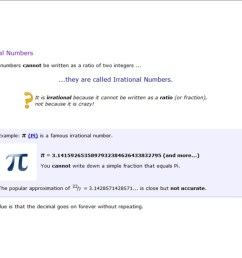 Rational and Irrational Numbers - 8th Grade Math [ 800 x 1035 Pixel ]