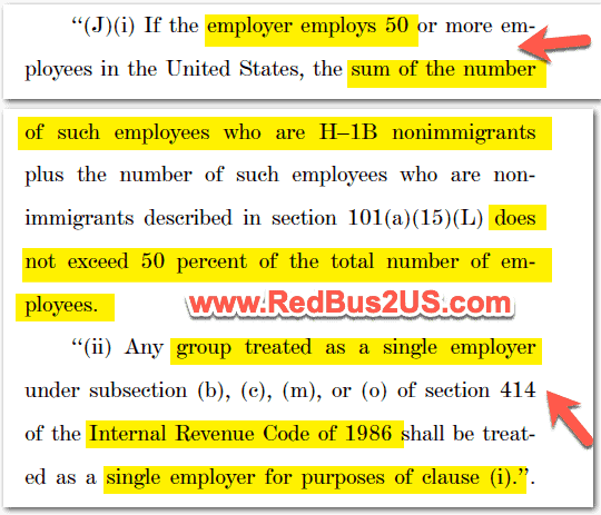 H1B Employer Requirements for Green Card in S386 Amendment