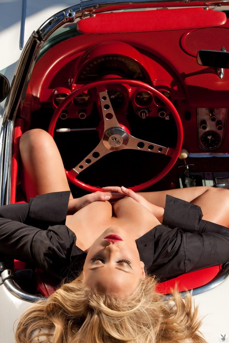 Ashley Hobbs  Chevrolet Corvette C1 Convertible  RedBust