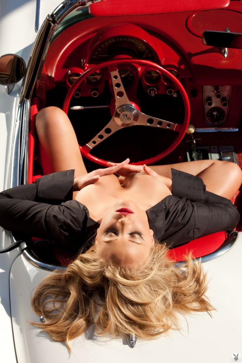 Ashley Hobbs  Chevrolet Corvette C1 Convertible