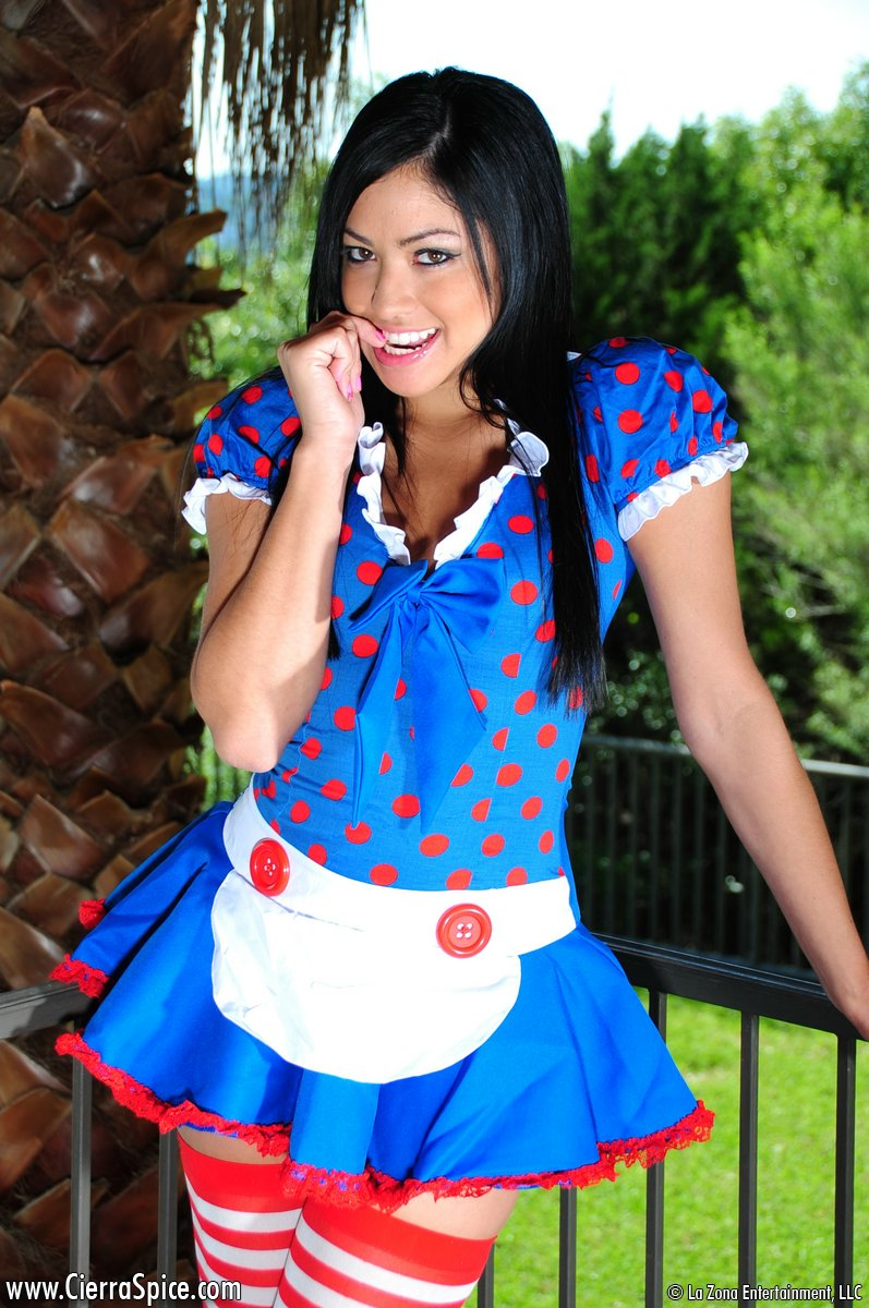 Cierra Spice  Alice from Wonderland  RedBust