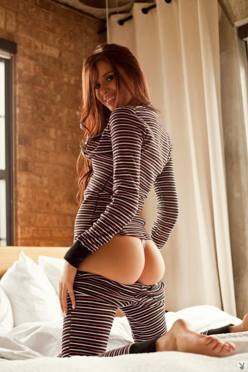 Cristy Nicole in pajamas  RedBust