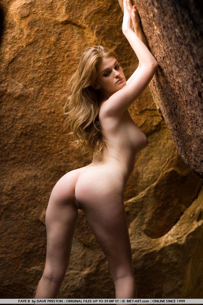 Faye Reagan on the rocks  RedBust
