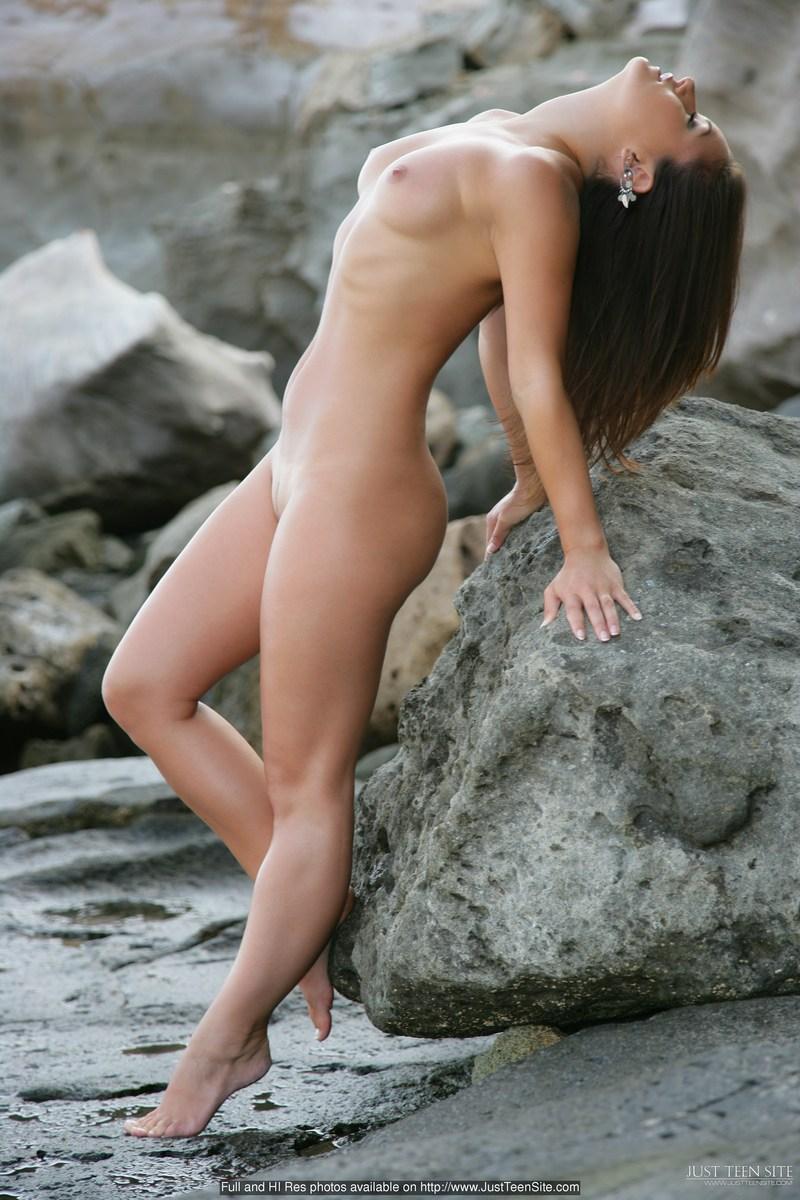Jana Mrazkova on the rocks  RedBust
