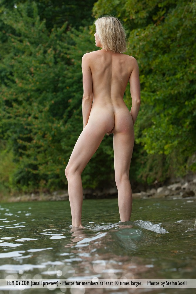 Katy Cee by the river  RedBust