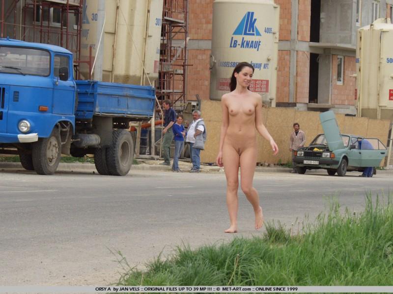 Orsy nude in public  RedBust