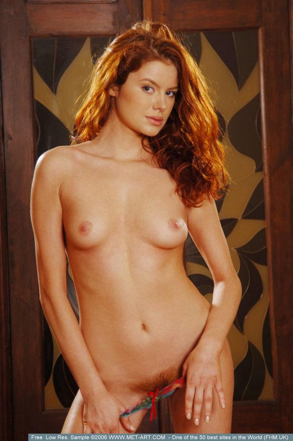 Tanya  Fabulous redhead  RedBust