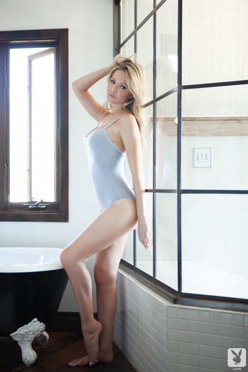 Tiffany Toth  Bath time