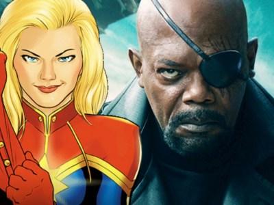 Nick Fury Captain Marvel
