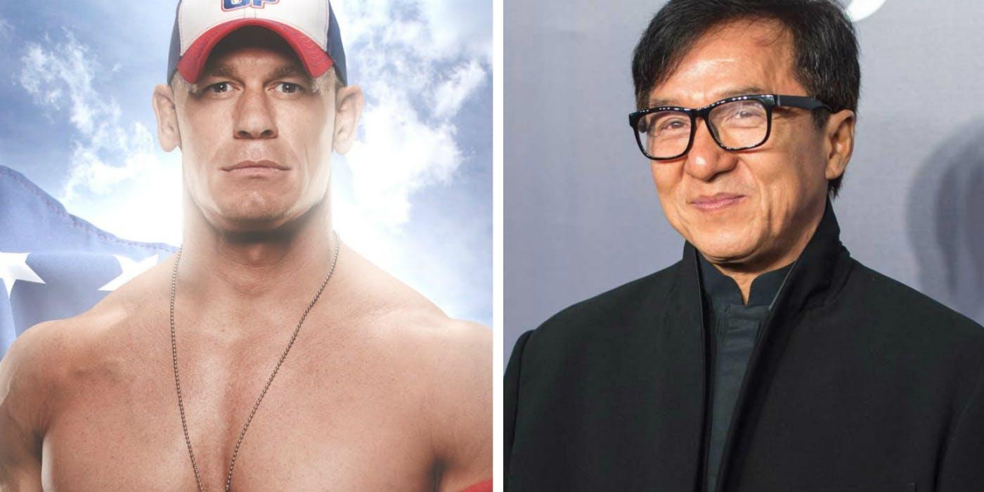 John Cena Jackie Chan