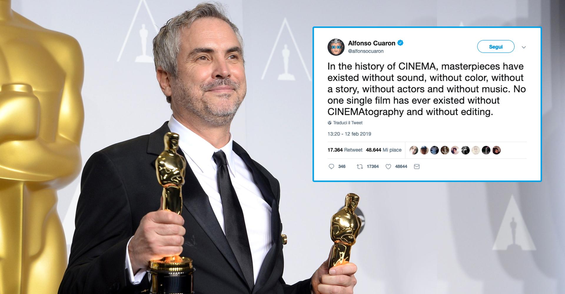 Oscar Alfonso Cuaron Roma