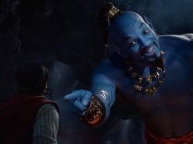 Aladdin Will Smith Genio Blu